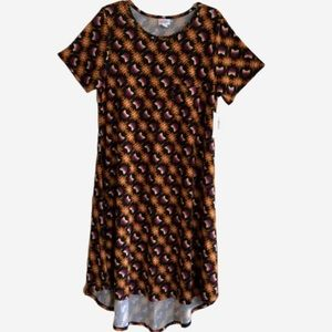 LuLaRoe Carly MWT in Autumn Tribal Print